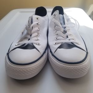 Converse All Star White Low Top 10